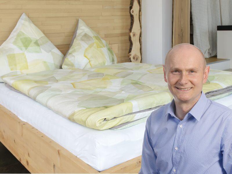 5 % RABATT auf Zirbenbetten, Schlafsysteme & Bettwaren von ProNatura