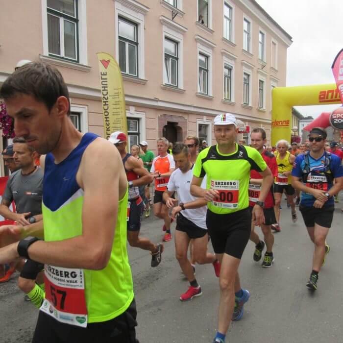 Matthias Thaler beim Erzberglauf