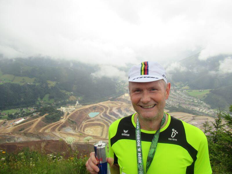 Matthias Thaler erfolgreich beim Erzberglauf teilgenommen