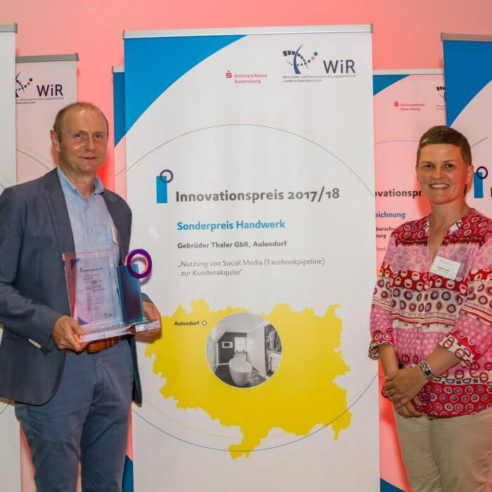 WIR Innovationspreis Gebr. Thaler GbR