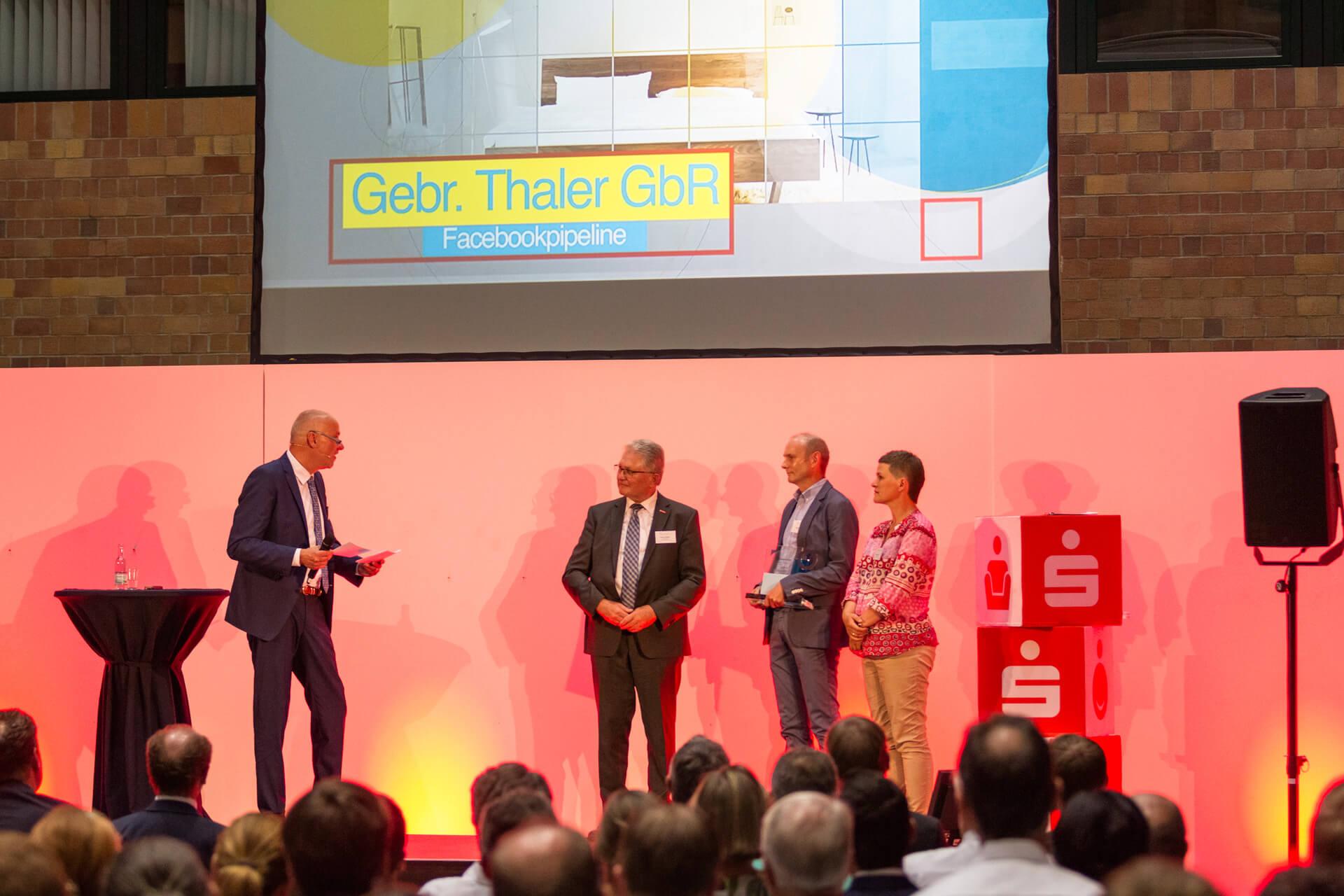 """Ihr Schreiner Thaler gewinnt """"Sonderpreis Handwerk"""" beim Innovationspreis"""