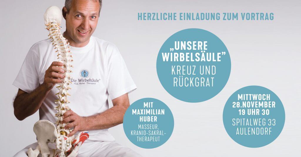 Vortrag mit Maximilian Huber