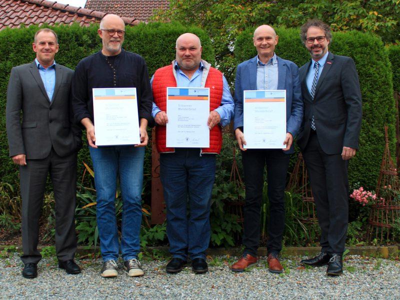 Matthias Thaler erhält Silbernen Meisterbrief