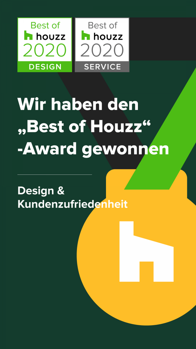 """Ihr Schreiner Thaler aus Aulendorf wird mit dem """"Best of Houzz""""-Award 2020 ausgezeichnet"""